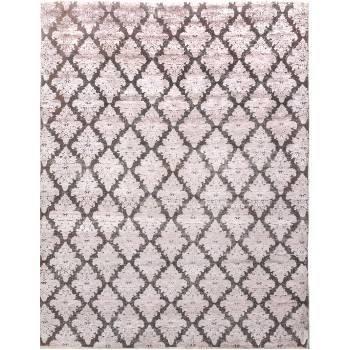 Jasny, dizajnerski dywan ze worem w rozmiarze 240 na 300 cm