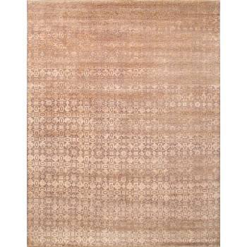 Ręcznie utkany jedwabno-wełniany dywan