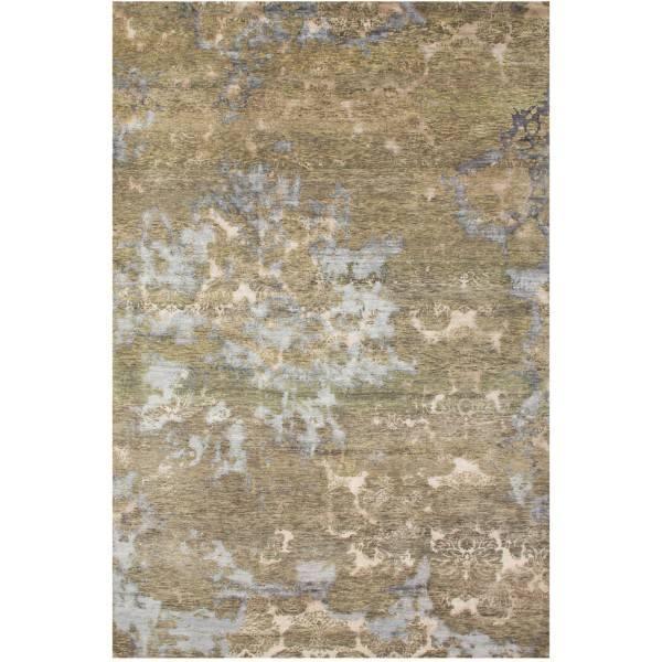 Indyjski jedwabno-wełniany dywan