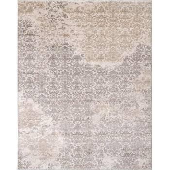 Dizajnerski, jedwabny indyjski dywan