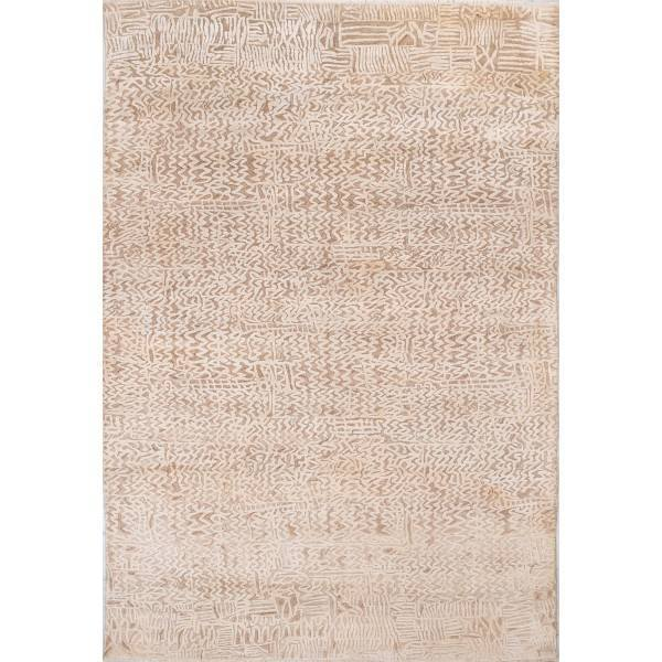 Jedwabny indyjski dywan