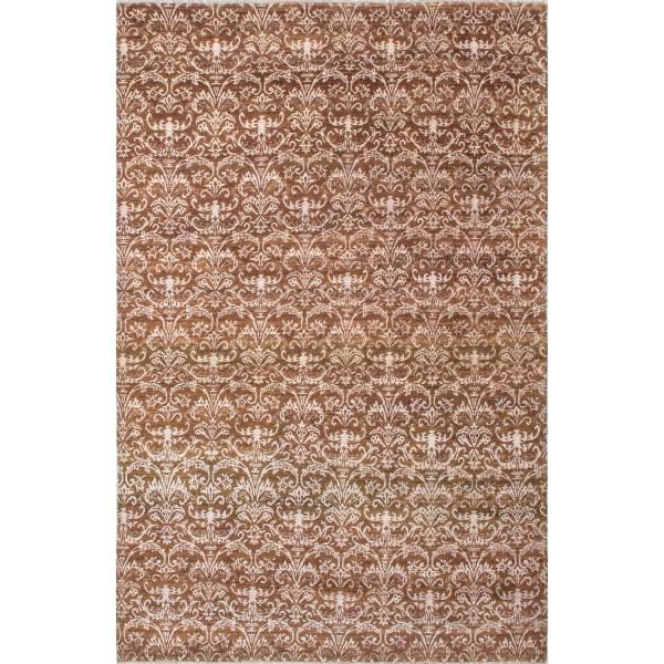 Nowoczesny, jedwabny, indyjski dywan