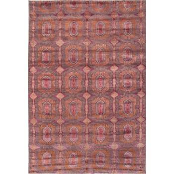 Indyjski, orientalny  dywan z wełny i jedwabiu
