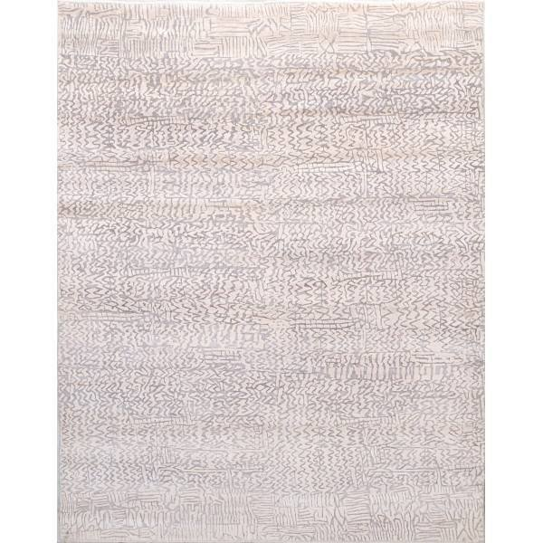 Oreintalny dywan indyjski utkany z jedwabiu