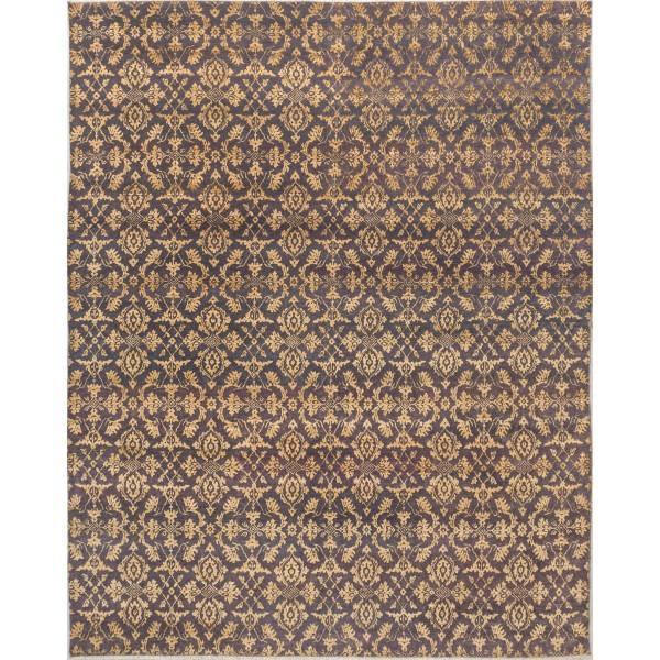 Indyjski, orientalny ręcznie tkany dywan z jedwabiu i wełny