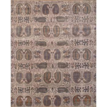 wełniany, indyjski, ręcznie tkany dywan