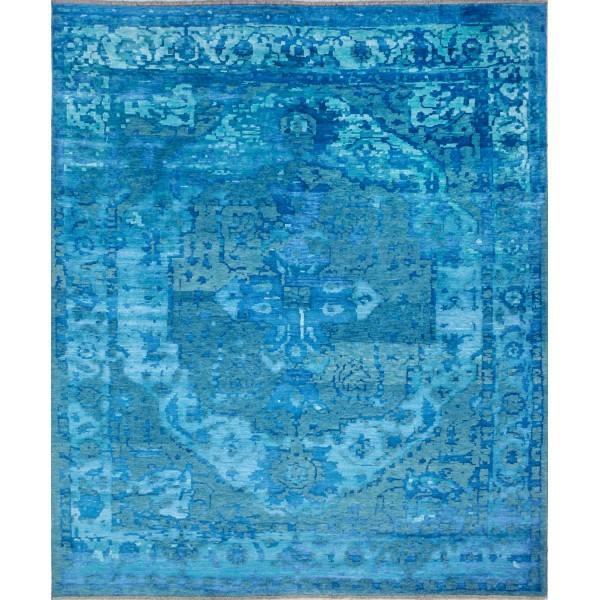 Orientalny, wełniany, indyjski, ręcznie tkany dywan