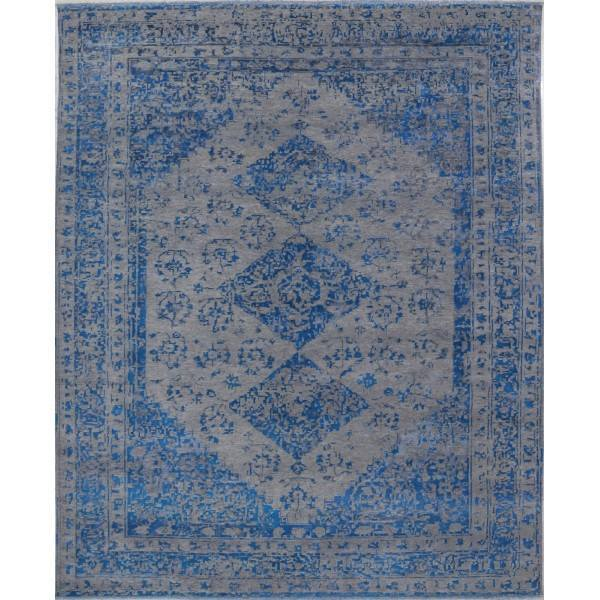 Orientalny, indyjski, ręcznie tkany jedwabny dywan