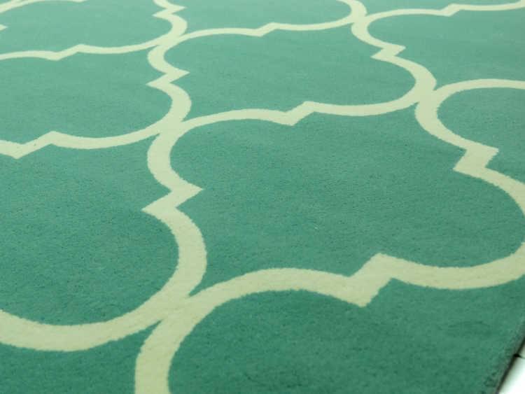 przykład wykonania dywanu na zamówienie