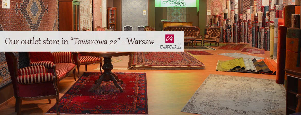 "Our outlet store in ""Towarowa 22"" - Warsaw"