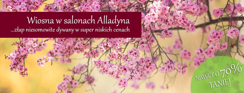 Wiosenna promocja w salonach Alladyna