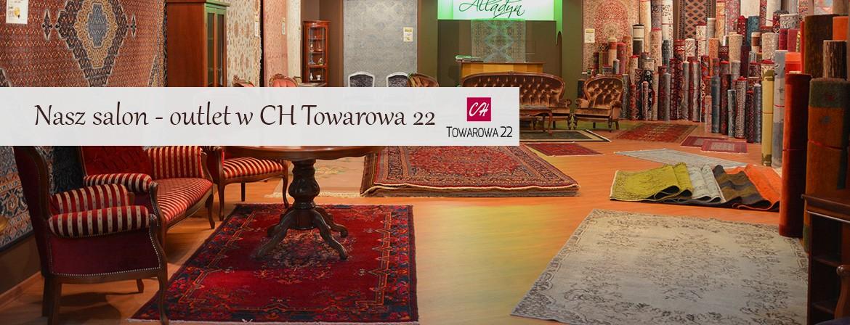 Towarowa 22, salon w Warszawie